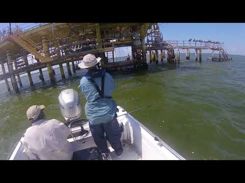 CCA Star Tournament Red Fish No Tag On Hooked Up Fishing San Leon Texas