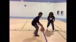 Как правильно играть в баскетбол, приколы 2016