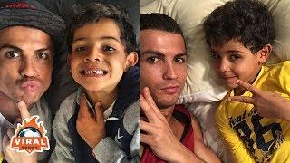 Cristiano Ronaldo & Ronaldo Jr FUNNY MOMENTS 2018