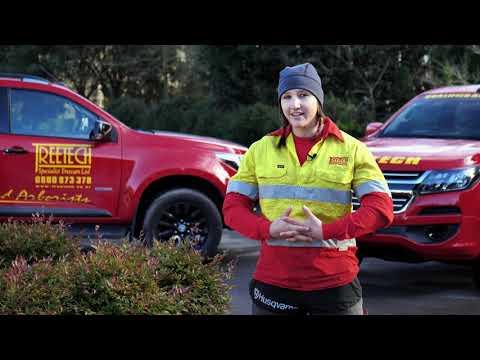 Arborist Sami Baker - 2018 Primary ITO Got a Trade Ambassador