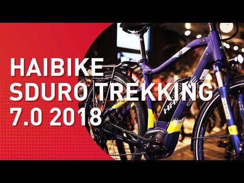 Haibike Sduro Trekking 7.0 - 2018 - Trekking E-Bike