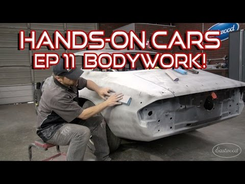 How To Bodywork A Car & Spray Primer-Surfacer on Hands-On Ca