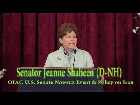 Sen. Jeanne Shaheen (D-NH) Speaks at OIAC Senate Nowruz & Iran Human  Rights and Democracy Briefing.