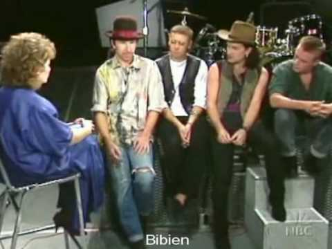 Interview with U2 1987 (part 1/6)