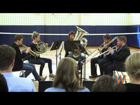Red Star Brass - Jive For Five, Live at Wolcott School of Music