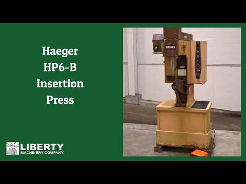 Haeger HP6-B Insertion Press - Liberty #47973