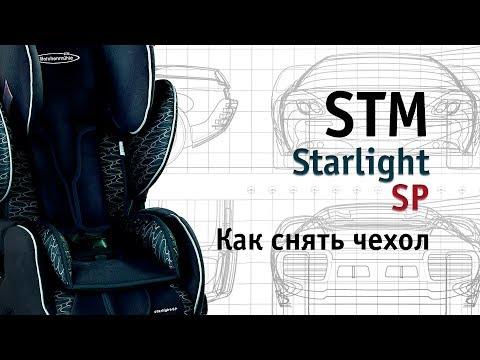 STM Starlight SP | как снять чехол | инструкция Автодети