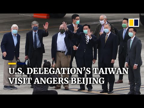 US delegation visits Taiwan as Beijing warns of military action against the island