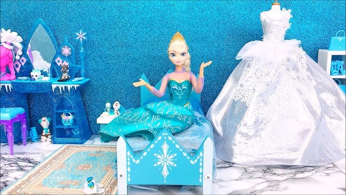 ????Frozen Elsa Wedding Day????Queen Elsa tries on wedding dresses and dances with the Prince????????