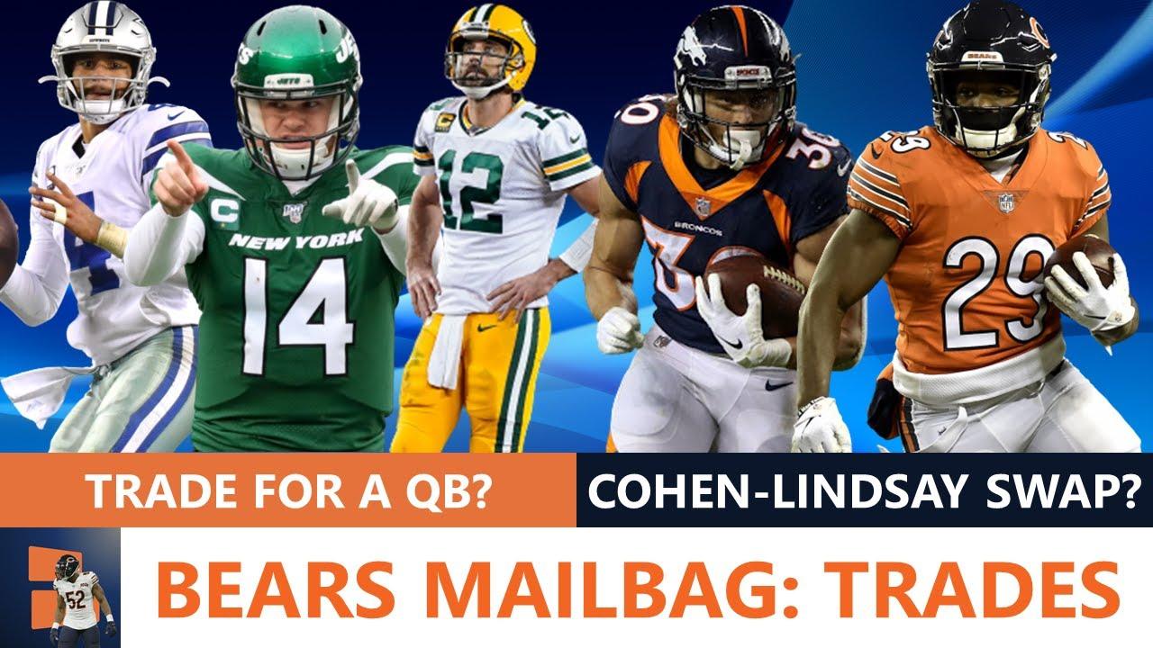 Bears Trade Rumors Mailbag: Phillip Lindsay For Tarik Cohen? Trade Eddie Goldman? Trade For A QB?