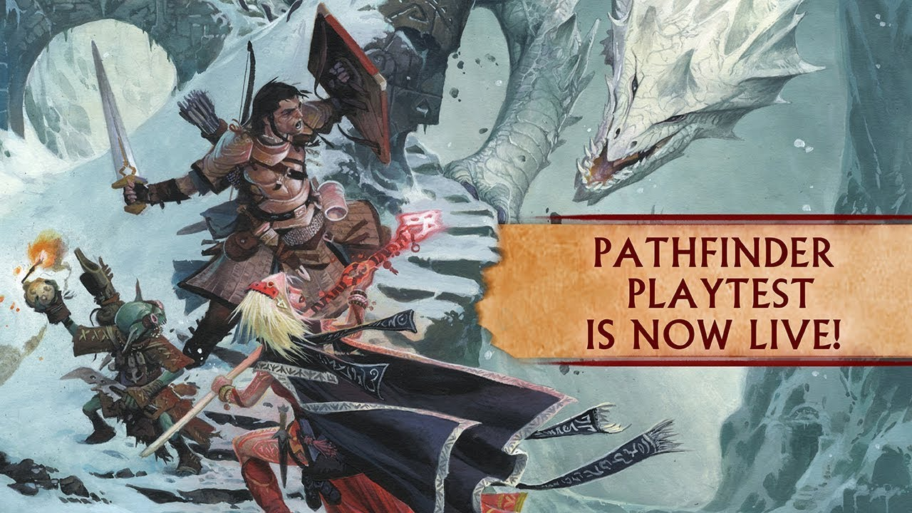 Pathfinder 2 Playtest is Live and Available for Free - Tribality