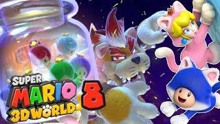 Jusqu'au Bout de Super Mario 3D World - C'est La Fin Pour Bowser ! (Dernier Boss / Monde 8)