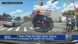 Teen Driver Charged After Fatal Cyclist Accident