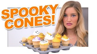 failzoom.com - Halloween Cupcake Cones!