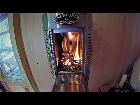 Dickinson Wood Stove Install In A Tiny House Part 4 Our