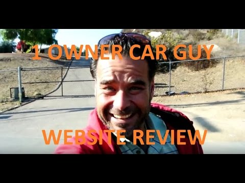 1 Owner Car Guy Reviewing A Few Of His Websites Youtube