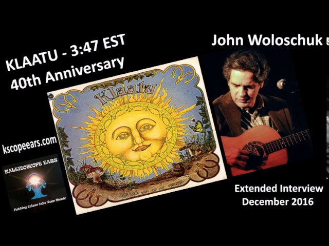 John Woloschuk Extended Interview for the 40th Anniversary of 3:47 EST by Klaatu