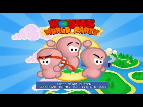 [PSX] Worms World Party (All Missions) [TAS]