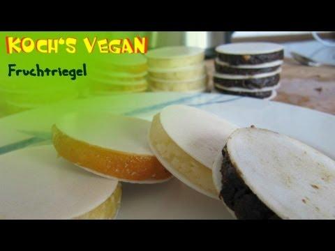 Vegane Fruchtriegel - Fruchtriegel Selber Machen - Vegane Rezepte Von Koch's Vegan