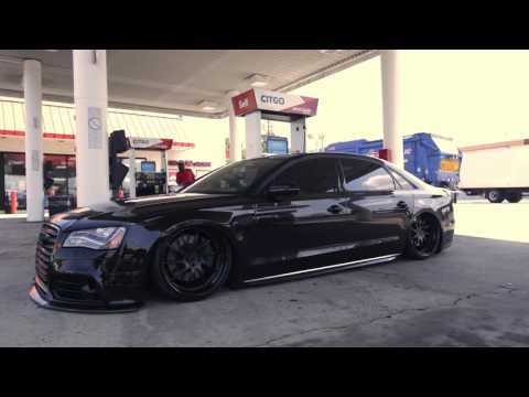 Bagged D4 Audi A8 Preview