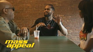 JUICE APPEAL: Dave East stops by Juices for Life with Adjua Styles and Styles P. | Mass Appeal