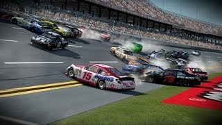 Nascar 2013 The Game Crashes Compilation