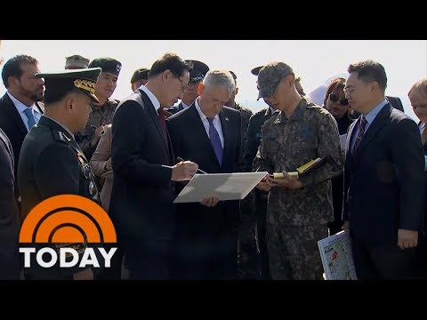 Download Youtube: Defense Secretary Jim Mattis Travels To North Korea To Push For Diplomacy Amid High Tensions | TODAY