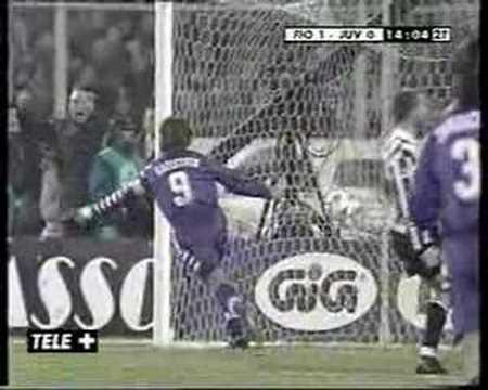 Fiorentina - Juventus 1 - 0 (1998/99)