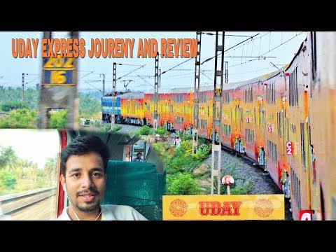 UDAY EXPRESS JOURNEY AND INTERRIOR REVIEW #PART 2 THROUGH HILLS