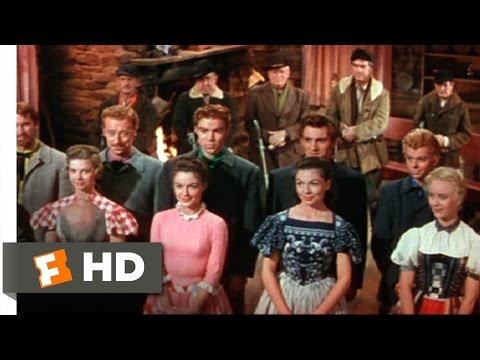 Seven Brides for Seven Brothers (10/10) Movie CLIP - Shotgun Wedding (1954) HD