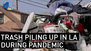 Maggots, Rodents, and Fleas: LA's Garbage Problem Is Getting Worse During the Pandemic | NBCLA
