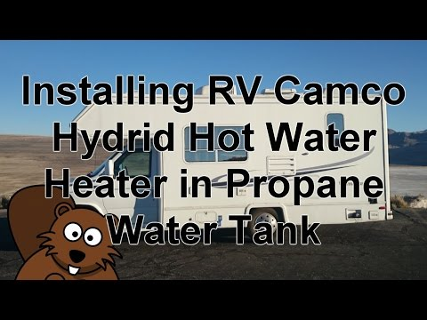 Camco 11673 Rv Hot Water Hybrid Heater Install Youtube