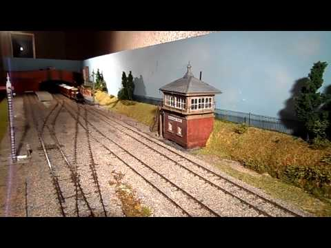 LBSCR 'D1' Class tank engine on a Hastings (stopping) train