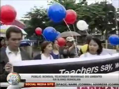 TV PATROL CENTRAL VISAYAS: AUG21 WALK FOR TEACHERS