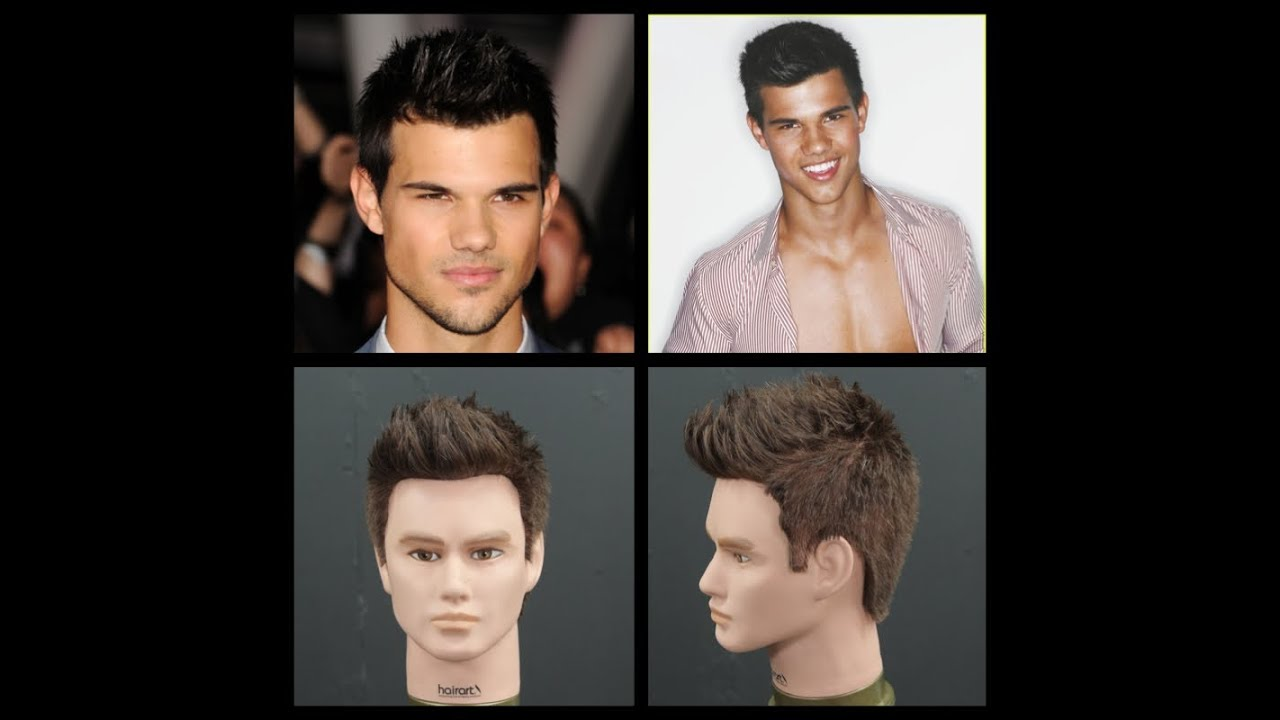taylor lautner haircut & hairstyle tutorial - thesalonguy
