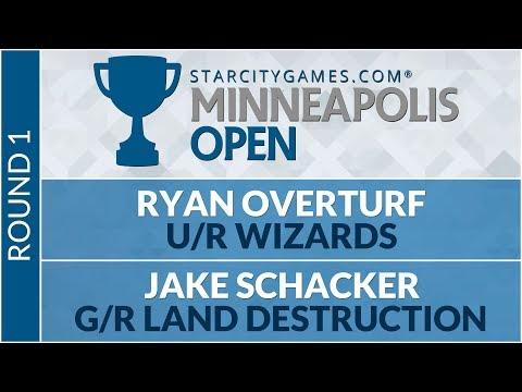 SCGMINN - Round 1 - Ryan Overturf vs Jake Schacker [Modern]
