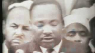 Martin Luther King 'I have a dream' (с переводом на русский)