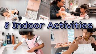 Indoor Toddler Play & Activity Ideas  2-4 Years Old  // Gautam Pragya