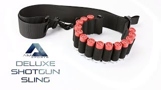 Deluxe Shotgun Bandoleer Sling - AIM Sports Inc.