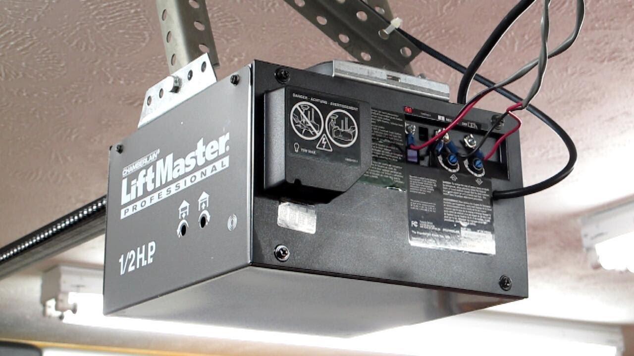 Garage Door Opener Antenna Extension  YouTube