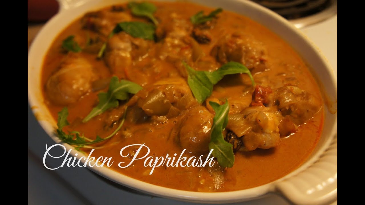 How to Make Chicken Paprikash - YouTube