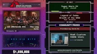 Super Mario 64 by cheese05 in 1:41:40 - SGDQ2017 - Part 134