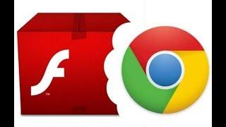Como ativar o Adobe Flash Player no navegador Chrome 2018