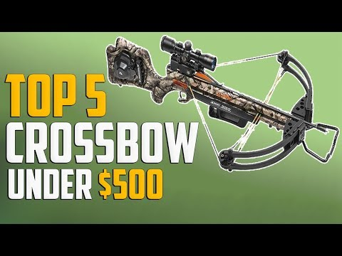 5 Best Crossbow Under 500 -  Cheap Crossbow For Deer Hunting