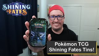 Pokémon Sword & Shield Shining Fates Tins Opening!