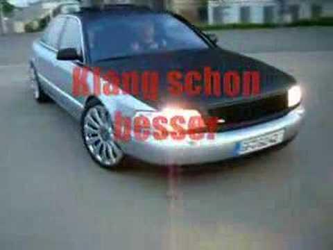 Audi A8 S8 Schalter Auspuffklang Aus Gifhorn 38518 Wwwdk Racede