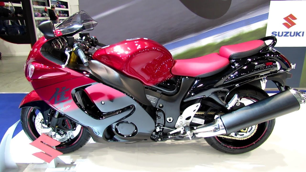 2014 Suzuki Hayabusa - 2013 EICMA Milan Motorcycle Exibition - YouTube