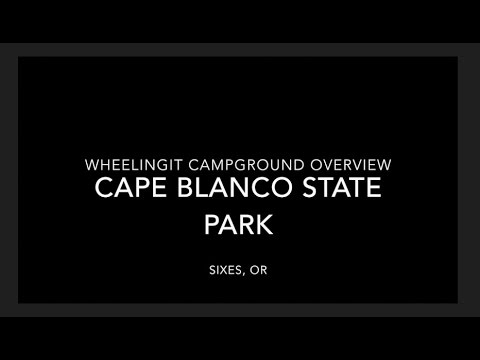Cape Blanco State Park Campground Overview