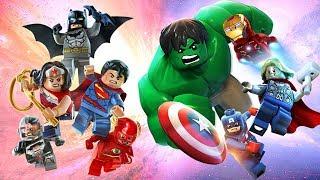 LEGO Justice League VS Avengers Full Episode