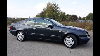 Mercedes BENZ CLK W 208 1997 - Start up and vehicle tour